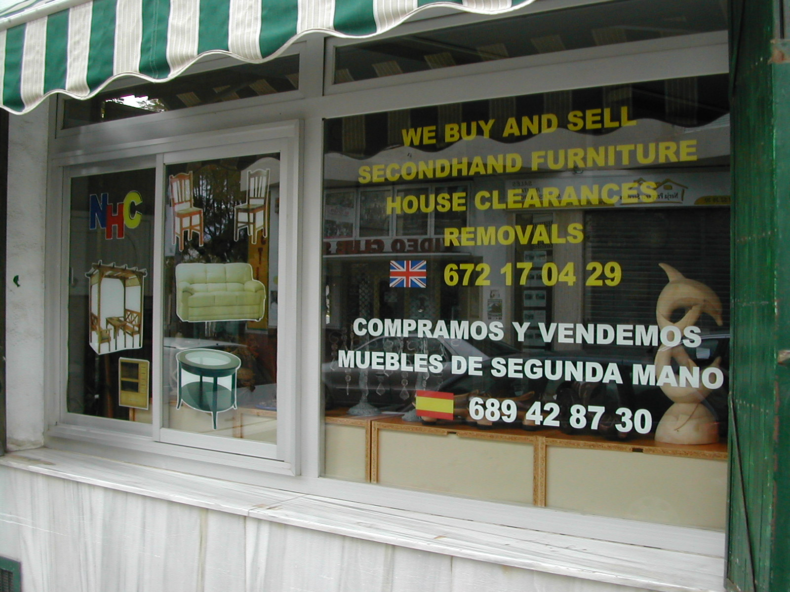 The Second Hand Furniture Shop in Nerja