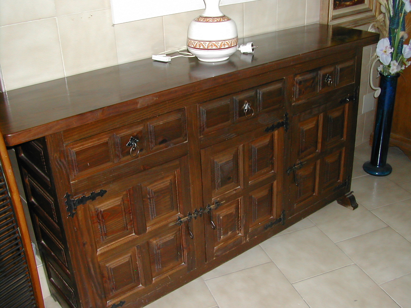 Traditional Spanish Style Sideboard